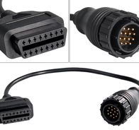 Adapterkabel - Mercedez Bens 14-pin male till OBD2