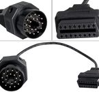 Adapterkabel - BMW 20-pin male till OBD2